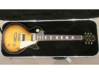 Gibson USA Les Paul Classic 2015 Vintage Sunburst Plain Top - Rare - Postage Available