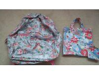 Cath Kidston Ballerina Kids Mini Rucksack + Bag+ Matching Purse Cath Kidson bag + matching purse