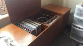 Play record antique furniture.