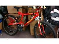 Proflex bike full suspension hydraulic brakes