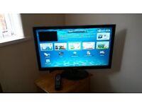 "27"" Samsung smart hub lcd tv"
