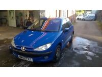 Peugeot 206 relisted due to time waster