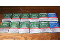 10X Nicocig Menthol Cartomisers + 2x Tobaco Flavour New