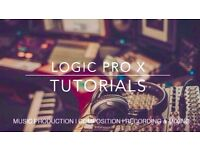 Music Production Lessons - LOGIC PRO X Tuition - Songwriting - Composing - Recording & Mixing
