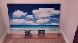 Large canvas photo print