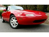 Mazda MX5 EUNOS IMPORT VERY CLEAN! 100K MILES! Glossy RED!