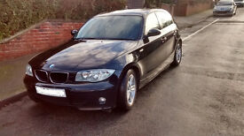 BMW 1 series 118D Sport 2005 Black FSH Low mileage