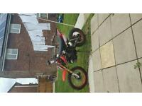 For sale 125cc pit bike in good condition and as