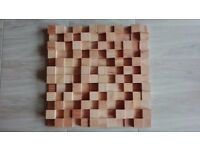 NEW 2D QUALITY BEECHWOOD SKYLINE Acoustic panel decor wall diffuser home studio