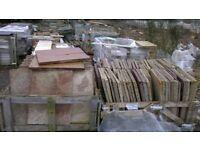 crates of new sandstone