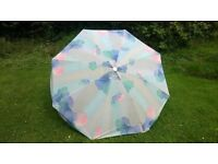 Canvas Garden Umbrella with tilting head
