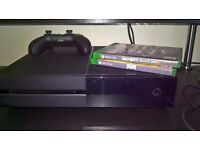 xbox one with doom and Bo3 wanted trade with ps4