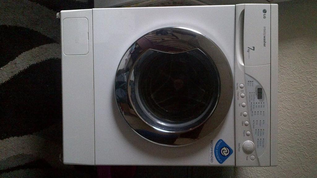 lg digital washing machine