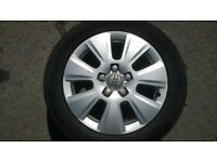 AUDI 16'' ALLOYS WHEELS AND TYRES