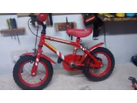 Firechief Rescue Boys Bike