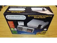 Nintendo Mini NES System 30 Games just collected, brand new and unopened - sadly must go!