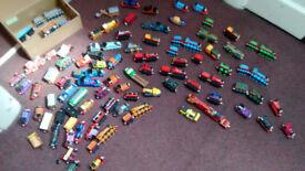 Thomas & Friends Die Cast pull along trains & vehicles.