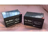Small vehicle/golf trolley Batteries