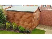 Garden shed 8x10ft large flat new