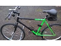 ADULT MOUNTAIN BIKE GENTS road /town 21 IN FRAME 21 SPEED lots of new PARTS
