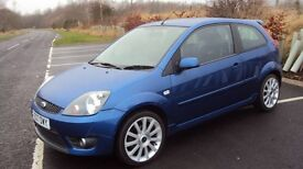 2007 07 FORD FIESTA ST. VERY LOW MILEAGE ,FULL SERVICE RECENTLY DONE,MOT DECEMBER 2017
