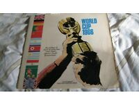 WORLD CUP 1966 - TWO RECORD SET ISSUE - WHEN ENGLAND WON THE WORLD CUP - RARE