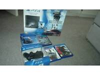 Ps4 1tb 2 pads and games