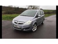 Vauxhall zafira 1.6 Petrol long mot full service history
