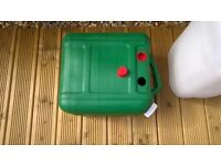 Fresh and waste water canisters