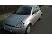 ford ka silver only 50 thousand miles long mot service history same owner 10 years
