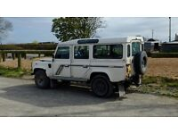 Landrover Defender 110 County Station Wagon 1991, 200tdi.
