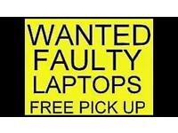 Wanted broken or faulty laptops 💻