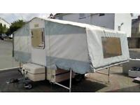 Dandy discovery trailer tent pvc folding camper awning