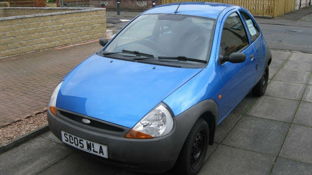 Blue Ford Ka For Sale  Miles Mot Dec   Years Old