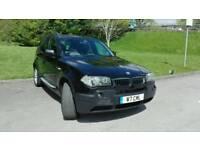 BMW X3 3.0i X-drive 4x4 Suv auto LPG Bi-fuel Black Sport variant 2004