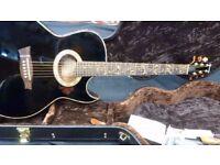 Ibanez EP10 Euphoria Steve Vai Acoustic-Electric Guitar inc Hard Case
