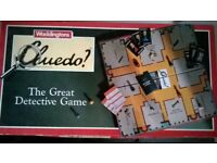 Cluedo Vintage Board Game Waddingtons 1990s Edition
