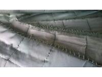 Laura Ashley Beaded Bedspread Pale Pistachio - King size