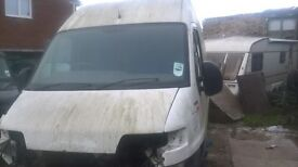 Fiat Ducato breaking for spares