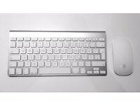 Apple Wireless Bluetooth Keyboard & Apple Wireless Bluetooth Magic Mouse