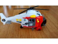 Toy rescue helicopter