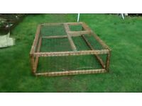 Rabbit Guinea Pig Run - Covered Pen/Cage