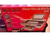Lexmark all in one printer model p6350