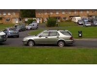 Saab 95, 2.3 Turbo Estate, Full Mot, Automatic Runs great Leather interior Towbar