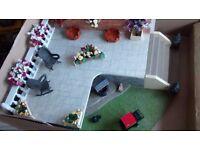 Dolls House Garden Exstension