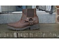 mens next tanned boots