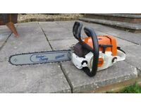 Stihl ms240 chainsaw, 41.6cc, 2003 Pro model, new bar and chain, see video!