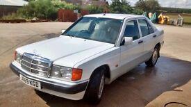 Mercedes 190e 2.0 petrol