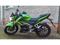 2016 Kymco 125cc CK1 Sports Style Bike. Ideal Learner / Commuter - Local Delivery Available