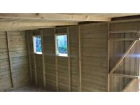garden sheds and summer houses any size or spec made to order